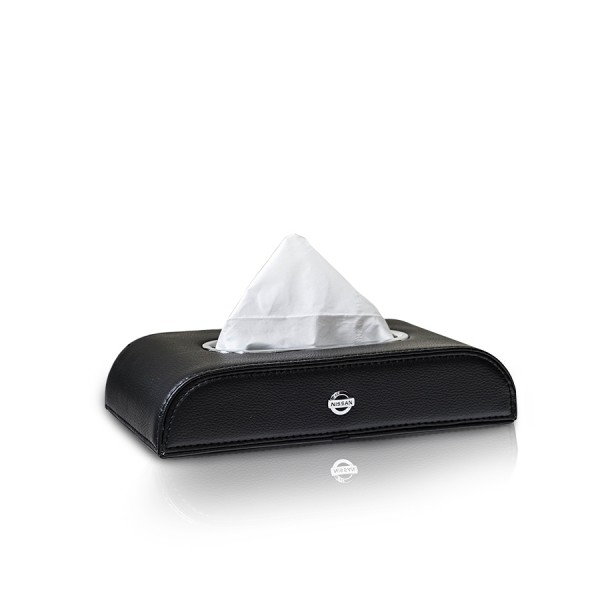 Tissue Box Nissan Black