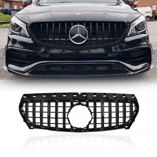 Grille Mercedes Benz C117 CLA Style GTR
