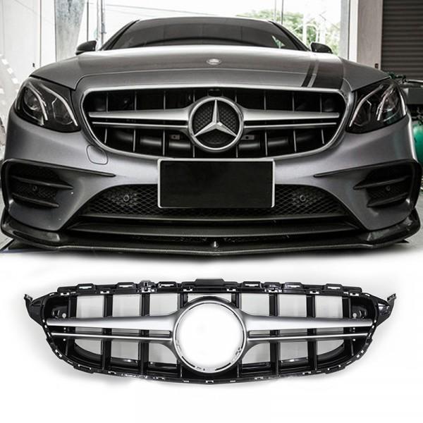 Grille Mercedes Benz W213 Style E63 Iridium Silver