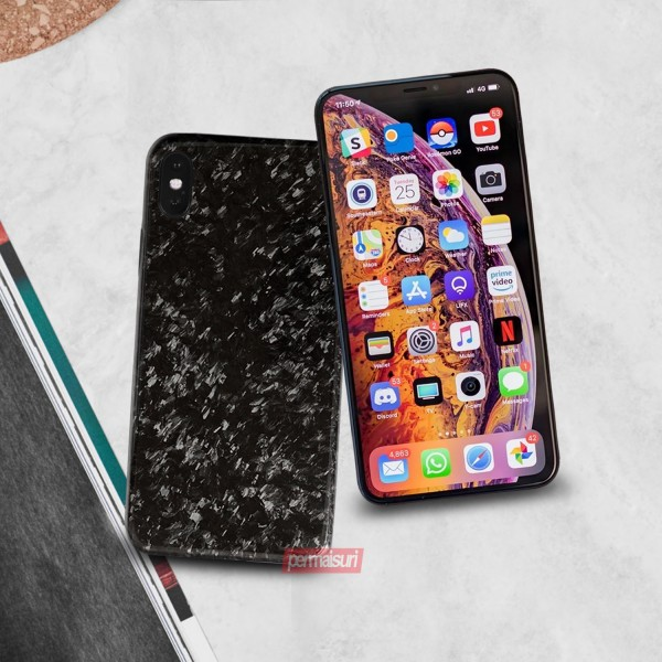 Case Forged Carbon Fiber Iphone XS MAX
