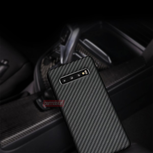 Case Carbon Fiber Matte For Samsung S10