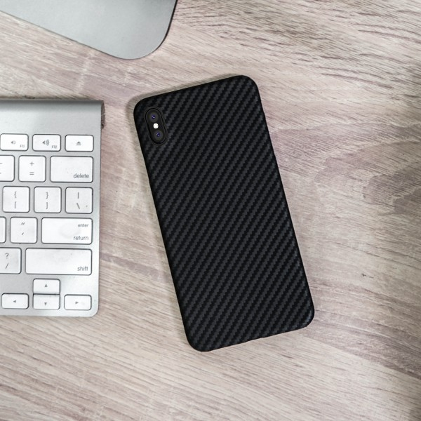 Case Carbon Matte Black For Iphone XS Max