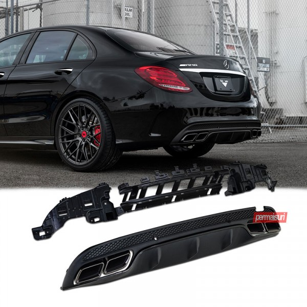 Diffuser Mercedes Benz W205 Style C63