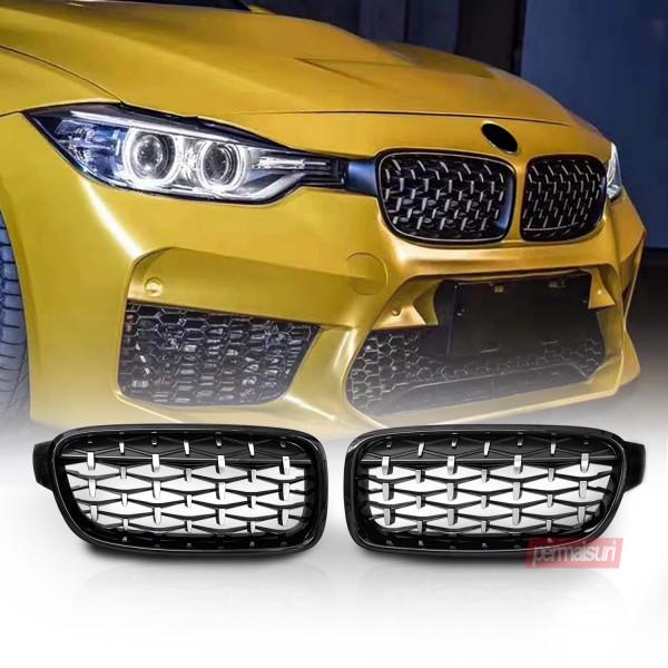 Grille BMW F30 Diamond Style Z4
