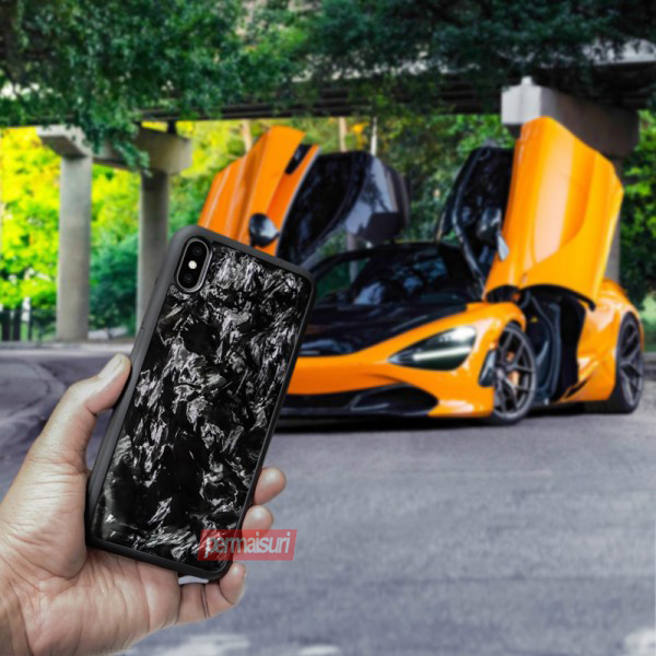 Case Carbon Forged Ruber Iphone XS MAX