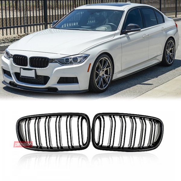 Grille F30 Gloss Black Dual Slat Style M3