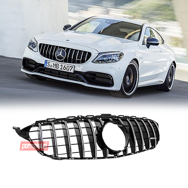 Grille Mercedes C Class W205 Style GTR
