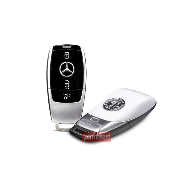 Key Case Mercedes W213 White