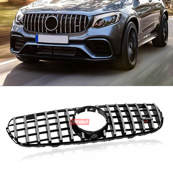 Grille Mercedes GLC Class X253 Style 63 GTR