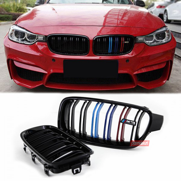 Grille F30 Three Color Dual Slat Style M3