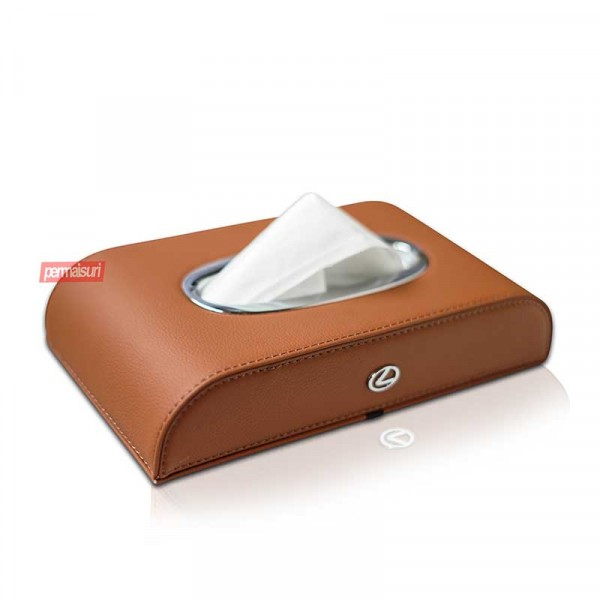 Tissue Box Lexus Brown