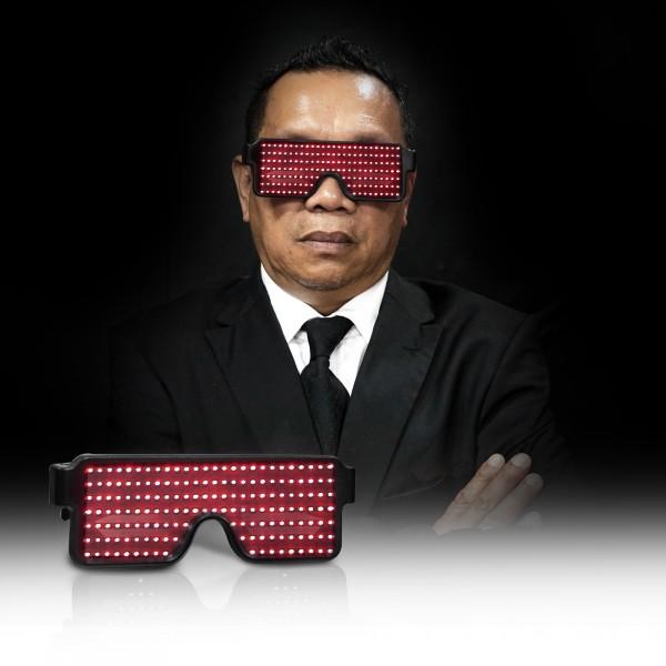 Kacamata Mamang Van Hamann Red