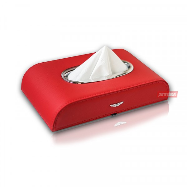 Tissue Box Aston Martin Red