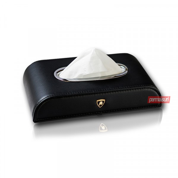 Tissue Box Lamborghini Black