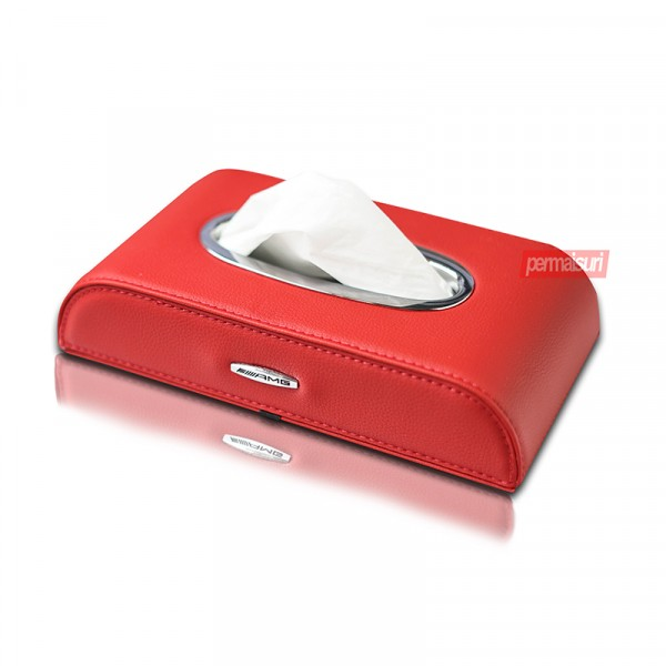 Tissue Box AMG Red
