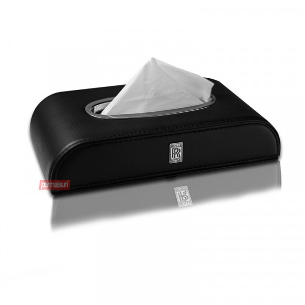 Tissue Box Rolls Royce Black