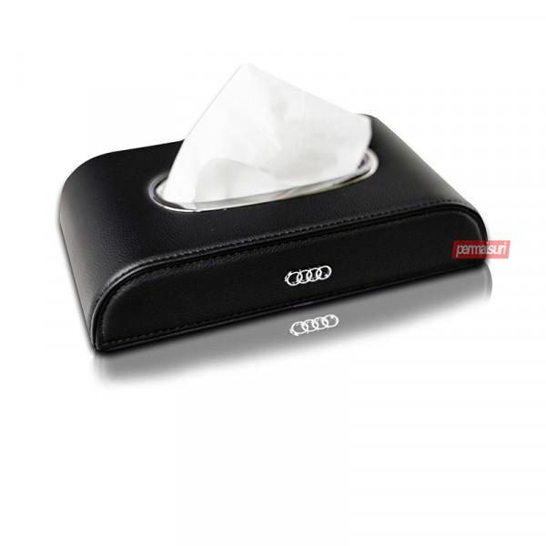 Tissue Box Audi Black