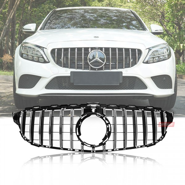 Grille Mercedes Benz W205 Style GTR Facelift