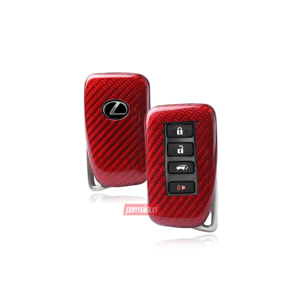 Key Case Carbon Red Lexus