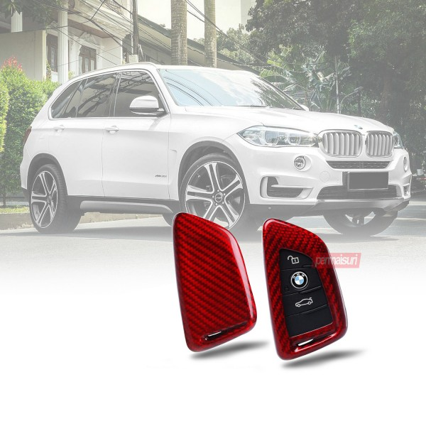 Key Case Carbon Type 1 Red BMW