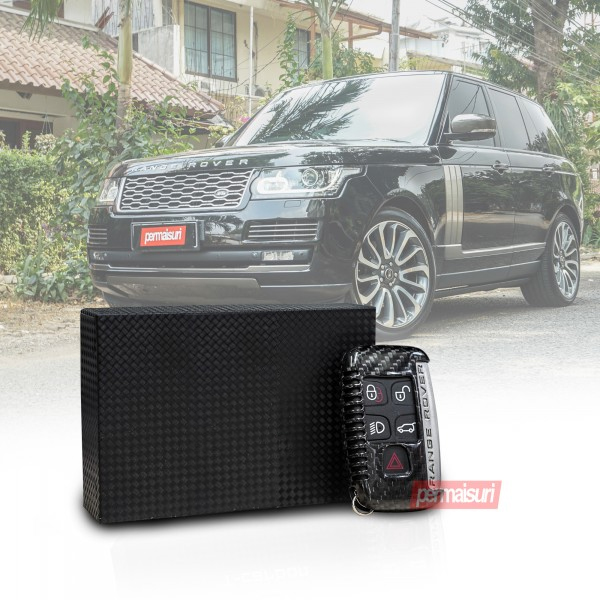 Key Case Carbon Black Range Rover