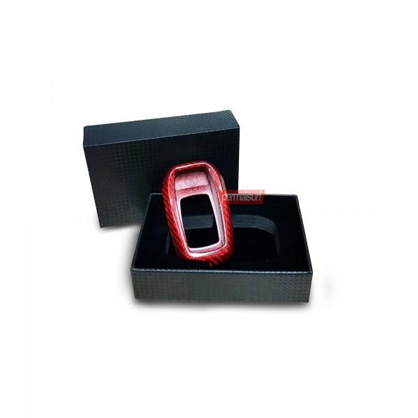 Key Case Carbon Red Toyota