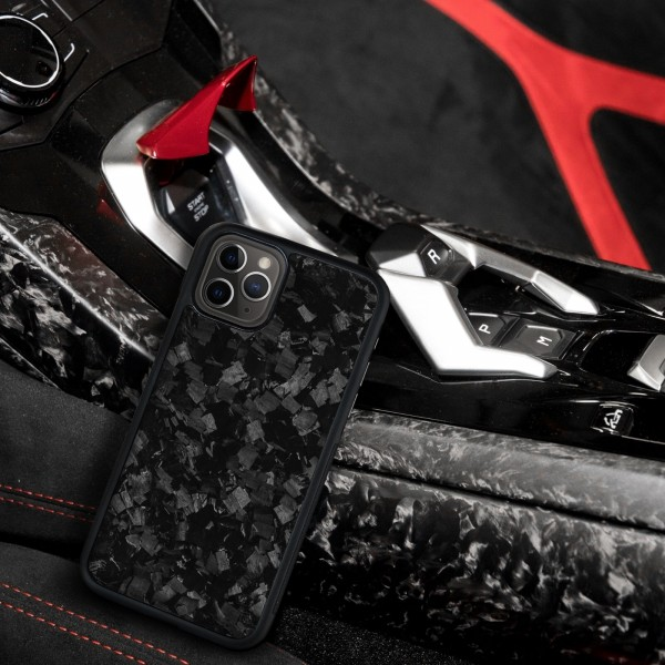 Case Carbon Forged  Rubber for  iphone 11 pro max