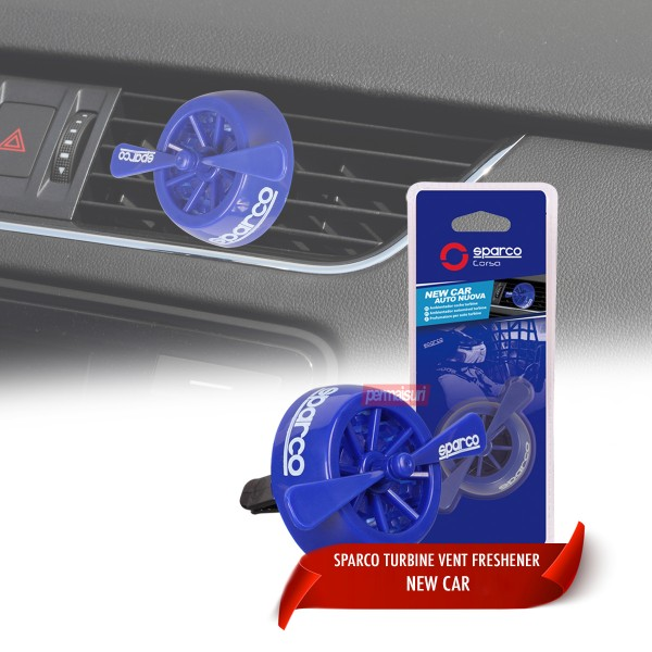 Sparco Turbine Vent Freshener New Car