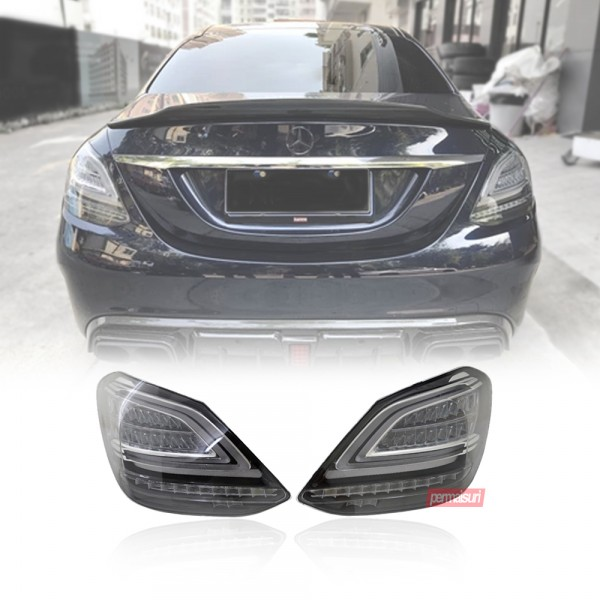 Stop Lamp Style Facelift For C-Class  W205