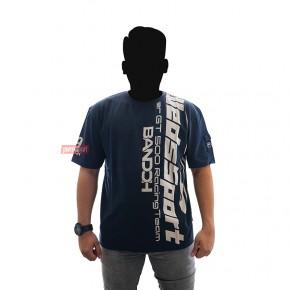 T-Shirt WedsSport Warna Navy Size 'XL' & 'L'