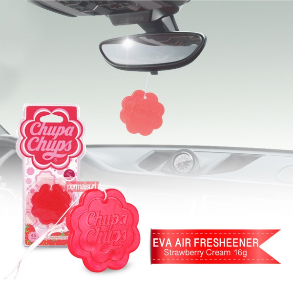 Chupa Chups EVA Air Strawberry Cream 16g