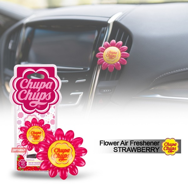 Chupa Chups Flowers Strawberry Cream 6g CPH1802
