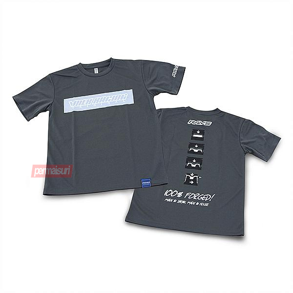 T Shirt Rays Volk Racing Official Gear Gray