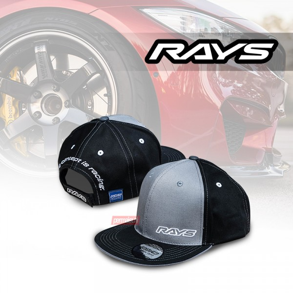 Rays Official Cap Grey Black