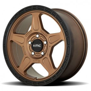 KM721 ALPINE Matte Bronze With Black Lip