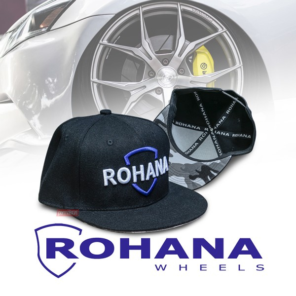 Snapback Rohana BLACK / CAMO