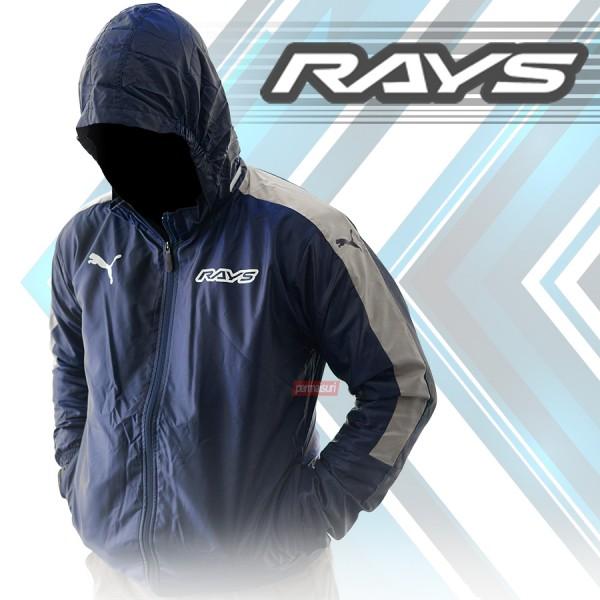 Parka Rays Winbreaker X Puma Navy-Silver