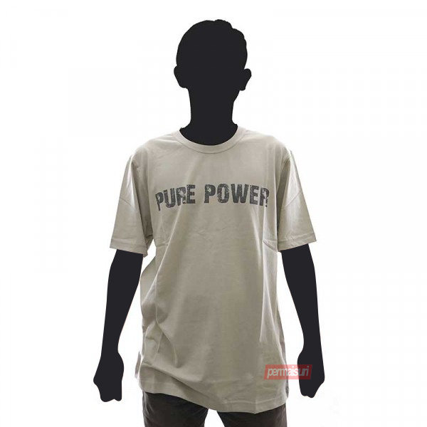 T-Shirt PURE POWER NATURAL Size L