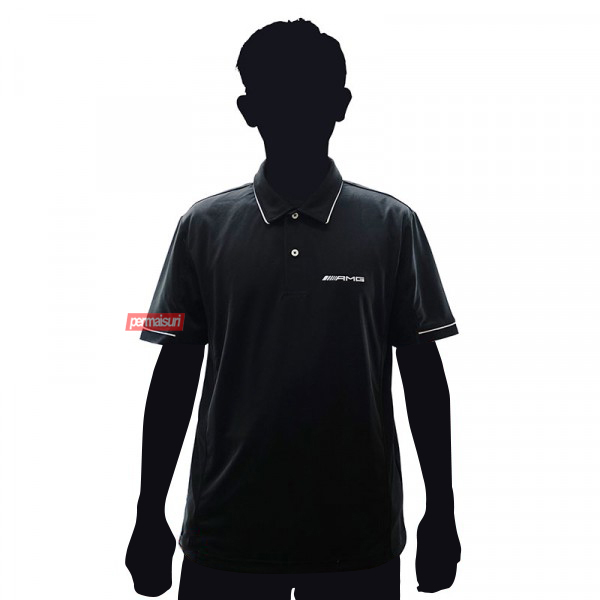 AMG POLO SHIRT MEN S BLACK MERCEDES-BENZ