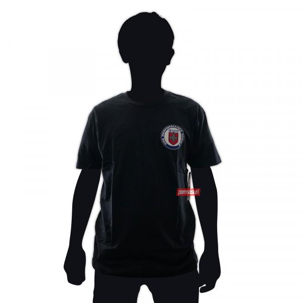 T-Shirt Mens Vintage Forged Black