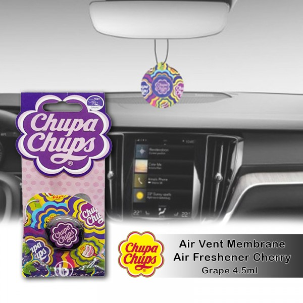 Chupa Chups Air Freshener Grape CHP1906