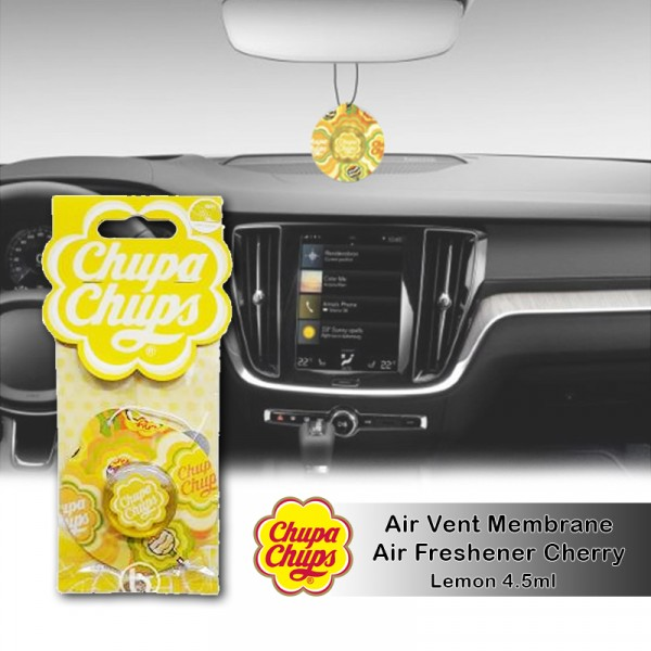 Chupa Chups Air Freshener Lemon CHP1903