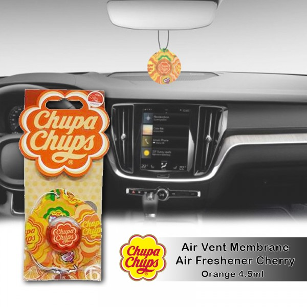 Chupa Chups Air Freshener Orange CHP1902