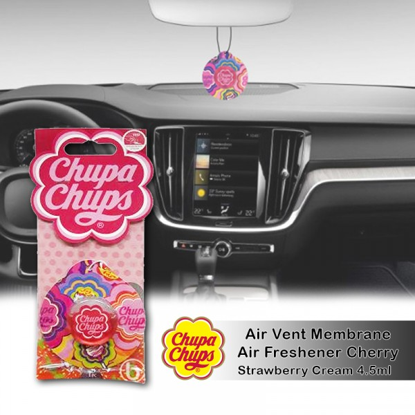 Chupa Chups Air Freshener Strawberry Cream CHP1901