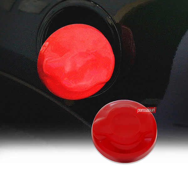 ABS Fuel Tank Cap Cover Red