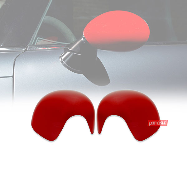 Cover Spion ABS Mini Cooper Red