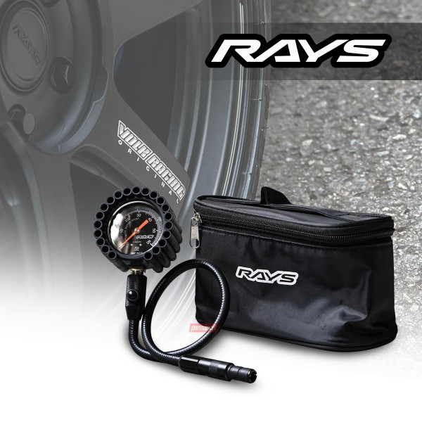 Rays Air Gague 60mm Black