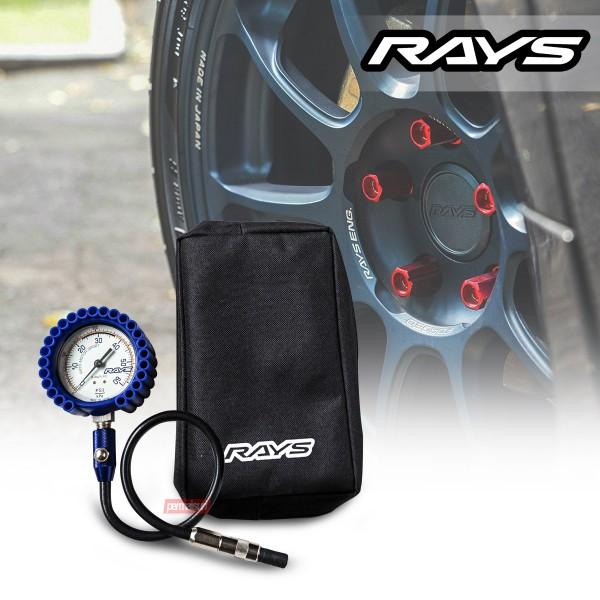 Rays Air Gauge 75mm Blue