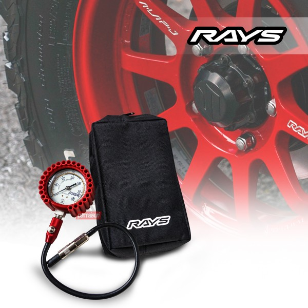 Rays Air Gauge 75mm Red