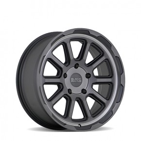 Chase Brushed Gunmetal 20